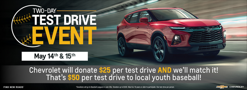 Two-Day Test Drive Event