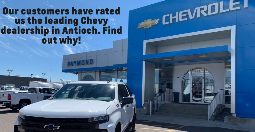 We Appreciate Our Customers at Raymond Chevrolet