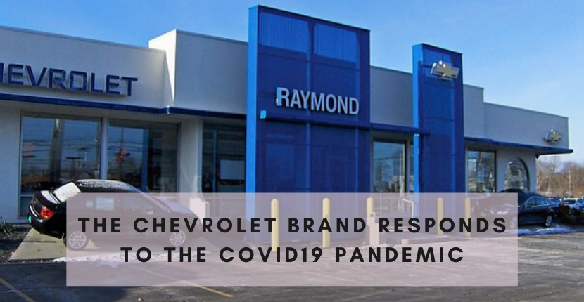 The Chevrolet Brand Responds to the COVID19 Pandemic