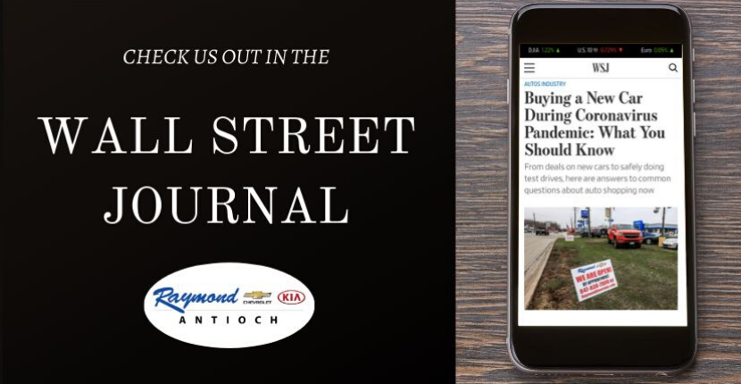 Raymond Chevrolet Was Featured in the Wall Street Journal- Check It Out!