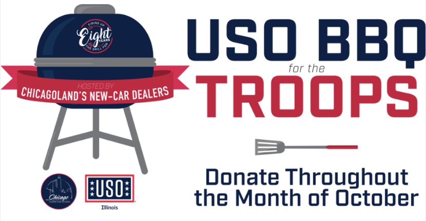 Raymond Chevrolet Supports USO of Illinois BBQ for the Troops