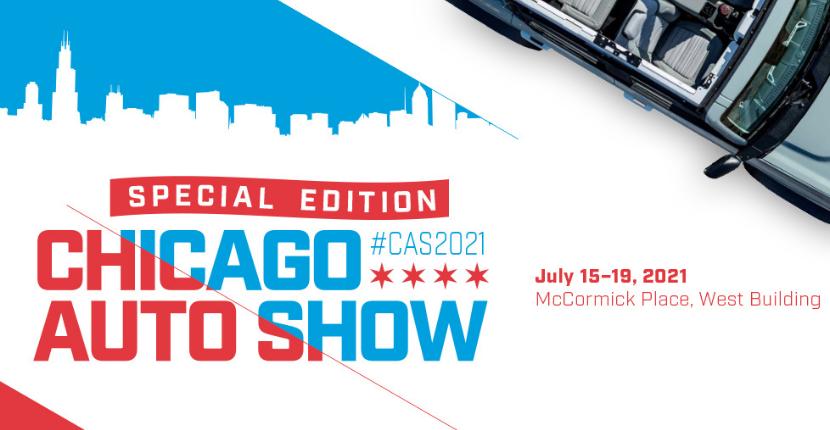 Chicago Auto Show Banner Raymond Chevy